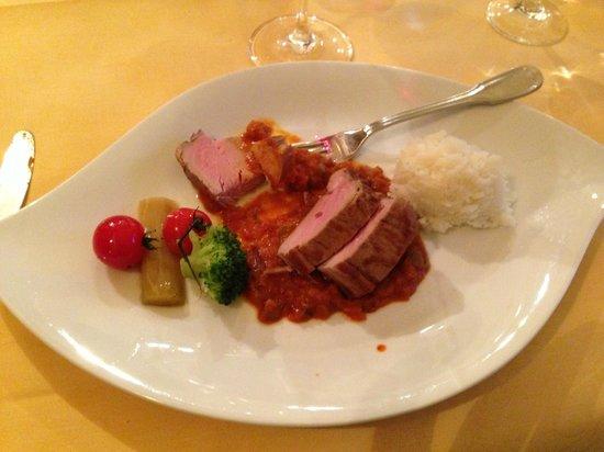 Hotel Butgenbacher-Hof: le plat de porc