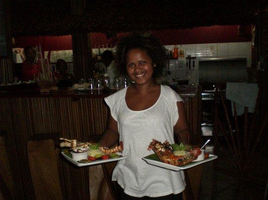 Gîte Guyan: langoustes