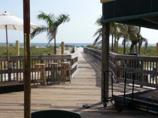 Beachcomber Beach Resort Hotel The Boardwalk To St Pete