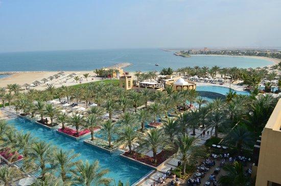 Hilton Ras Al Khaimah Resort & Spa : view from our balcony
