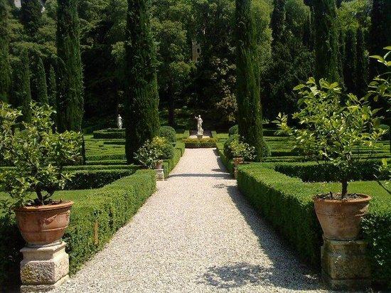 Giardini giusto in may bild von palazzo giardino giusti verona