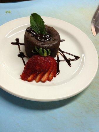 Kawanhee Inn : Lava Cake