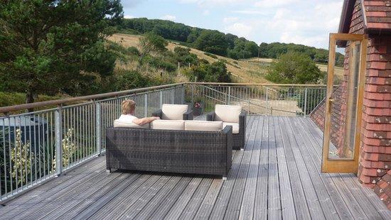 Hermitage Court Farm: The Balcony