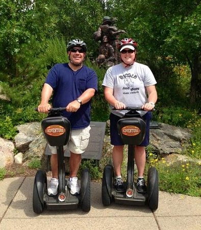 Glenwood Adventure Company : In-town Segway tour