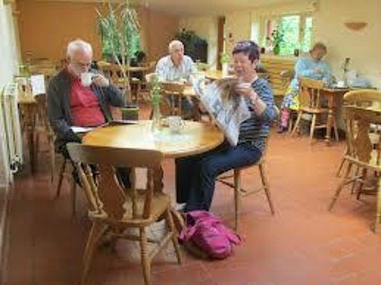 Botton Village Cafe: inside