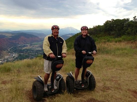 Glenwood Adventure Company: Off-road Segway tour