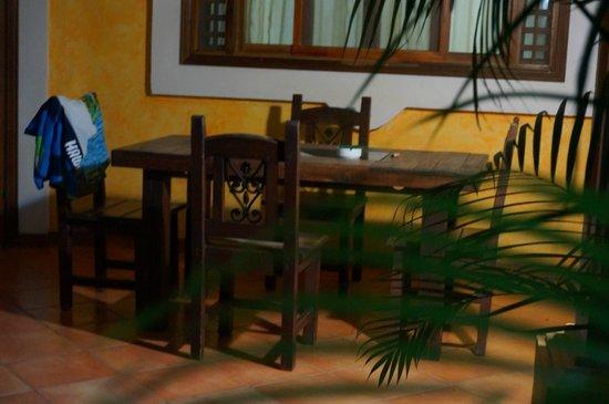 Villas Kalimba: Terras van de bungalow