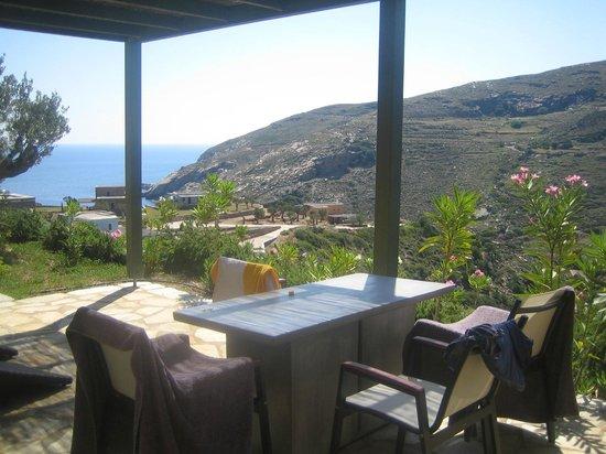Aegea Blue Cycladic Resort : θεα απο δωματιο