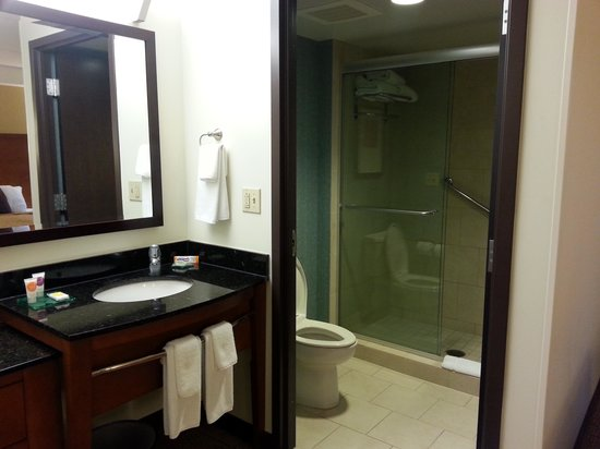 Hyatt Place Pittsburgh-North Shore : bathroom area