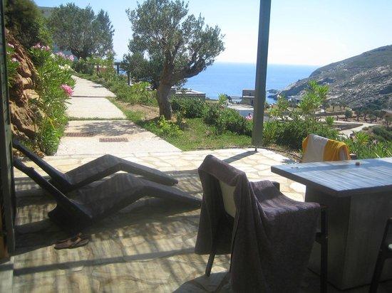 Aegea Blue Cycladic Resort: θεα απο το δωματιο