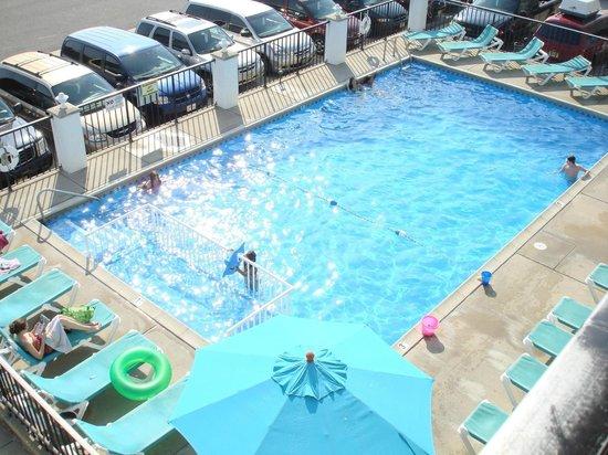 Aloha Oceanfront Motel: The Aloha pool!