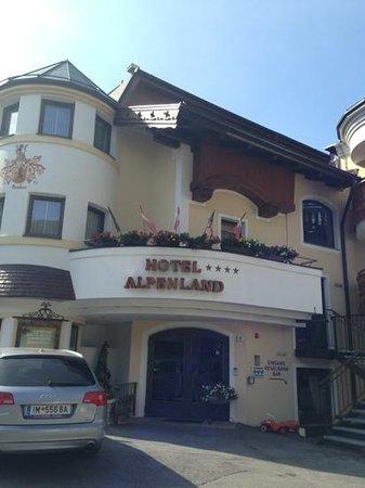 Hotel Alpenland: Hotel Alpeland sommer 2013