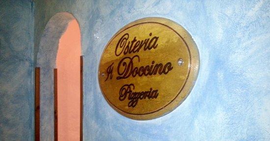 Osteria Doccino : targa
