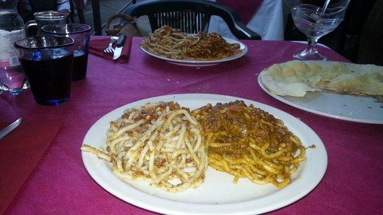 Osteria Doccino: Pici alle briciole e al ragù