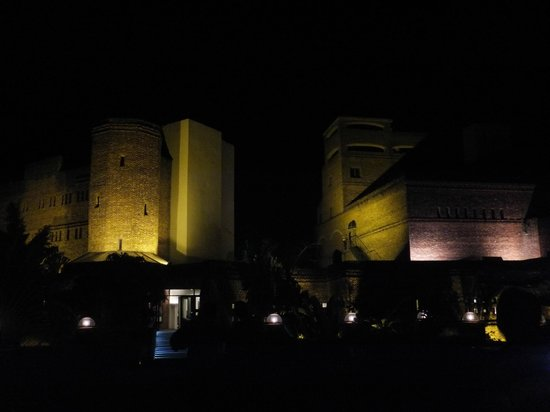 The Ffort Raichak: Eerie Castle at night