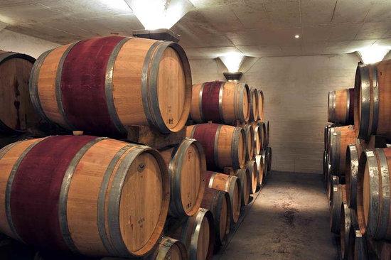 Rickety Bridge Winery: Barrel Maturation Cellar