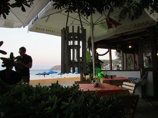Taverna Kabos Cavos: lovely view