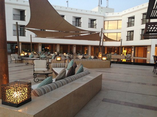 Hilton Luxor Resort & Spa: テラス