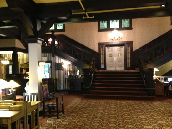 Historic Summit Inn: View from the entrance