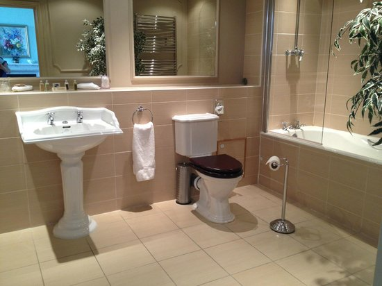 Wynyard Hall: Very large and lots of room for a shower cubicle