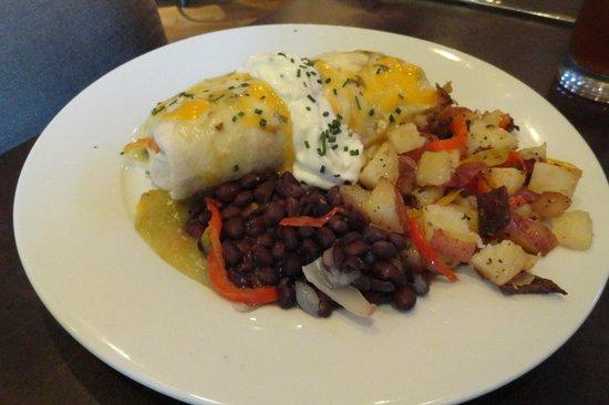 Old Martina's Hall: Breakfast burritto