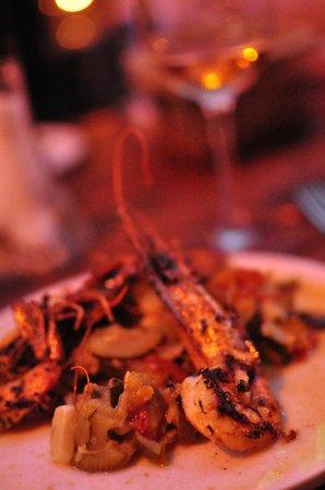 La Cave: shrimps
