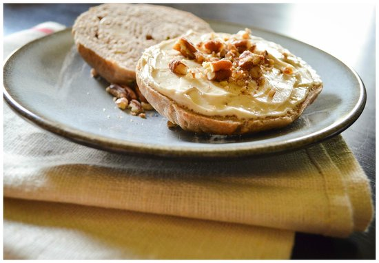 Ozro & Ray's Authentic Homestle Bagels: Ozro & Ray's Zucchini Nut Bagel