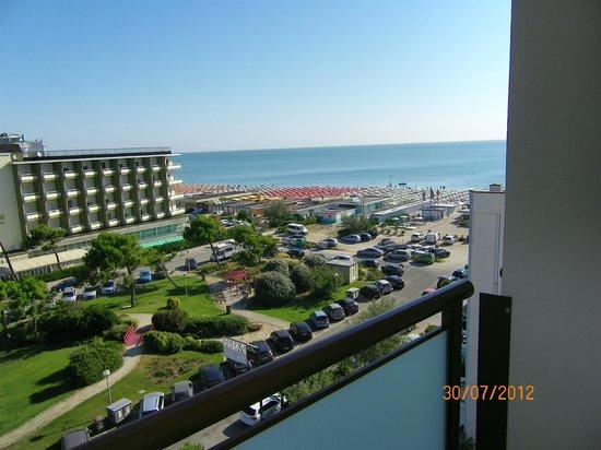 Grand Hotel Gallia: vue de notre chambre