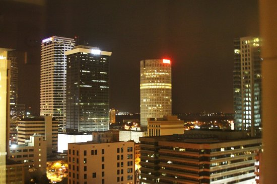 Floridan Palace Hotel: Vista de noche de la ciudad .