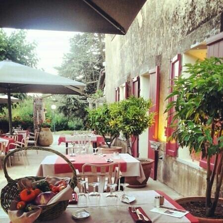 Hotel Domaine du Lac : Terrasse du restaurant