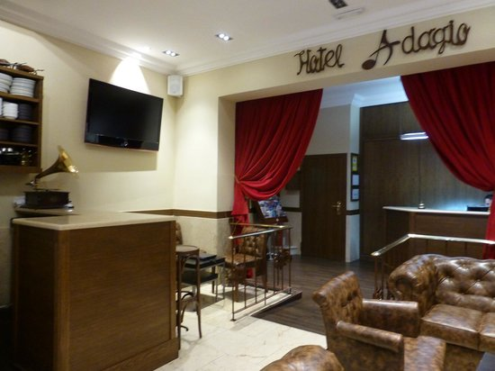 Hotel Adagio : パソコンコーナー