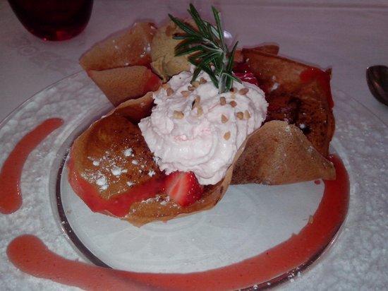 Au pied des marais : Le dessert