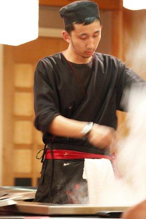 Kabuki Japanese Restaurant: Cooking