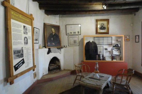 Kit Carson Home & Museum: Room with displays