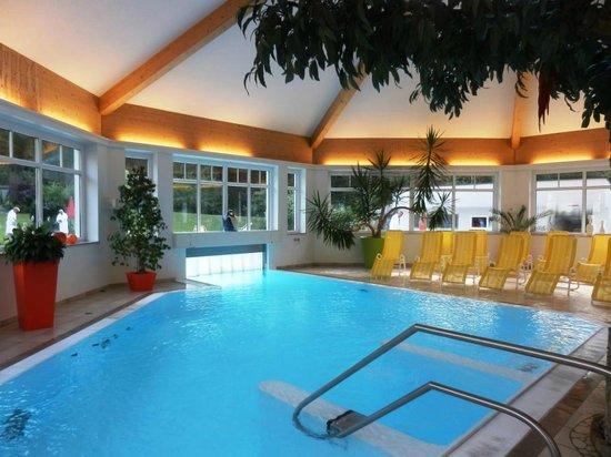 Relax & Wanderhotel Poppengut: Hallenbad
