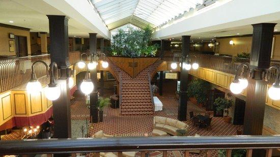 Hotel Rimouski : hall d'entrée