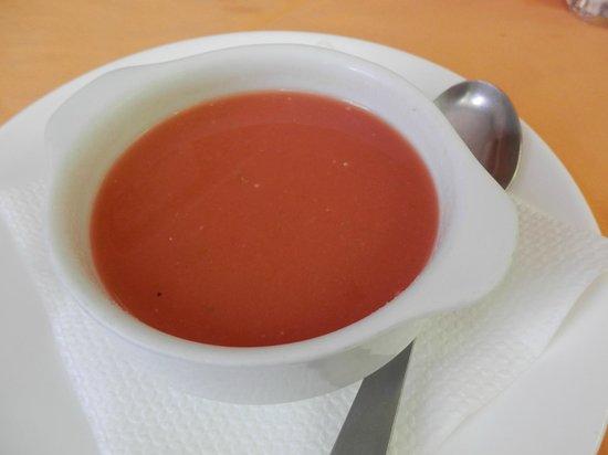 Panjuila: gazpacho