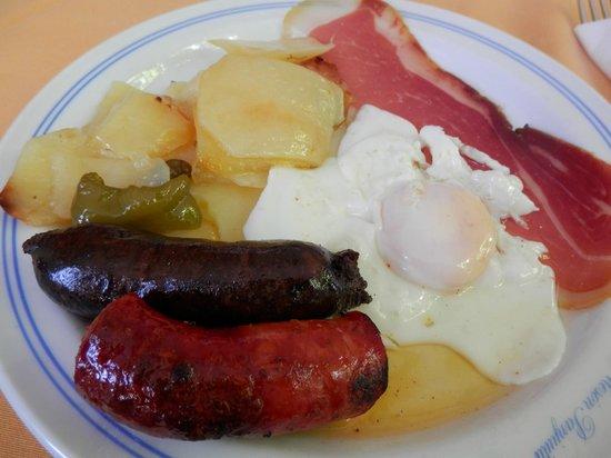 Panjuila: el plato alpujarreño