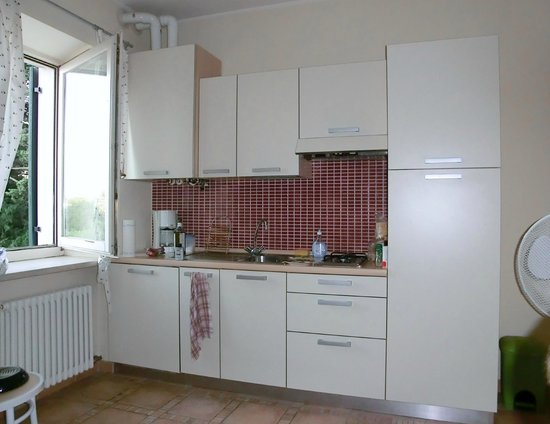 Residenza Eden: Die Küchenzeile