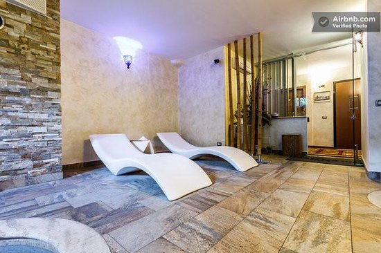 Aurelia Garden Gold Bed and Breakfast: SPA zona relax
