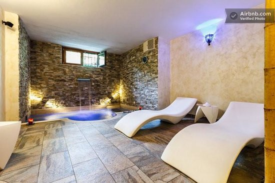Aurelia Garden Gold Bed and Breakfast : SPA wellness center