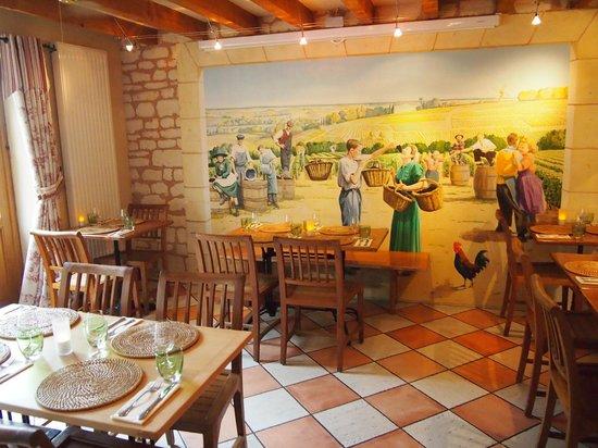 Les Dames de la Loire : la taverne