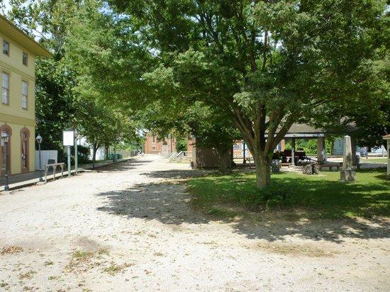 Ohio History Center: Ohio Village street scene