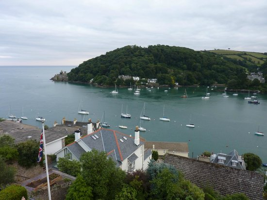 Nonsuch House: View from room across to Dartmouth Castle