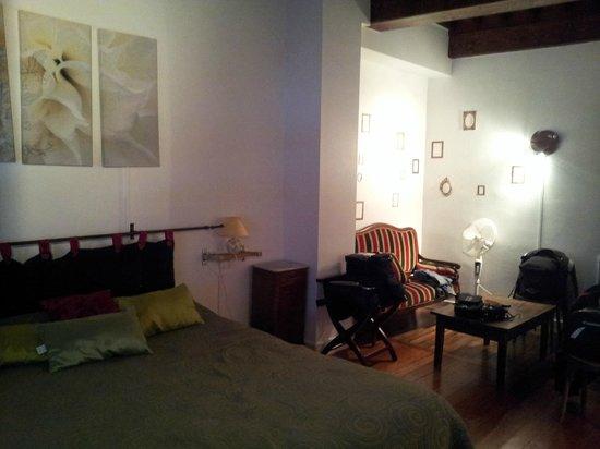 Au Faisan Doré : notre chambre