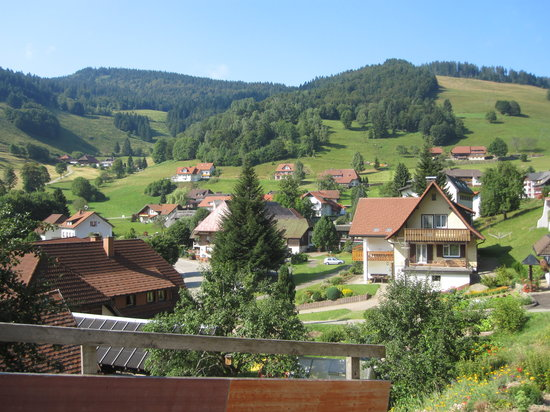 Gästehaus Sonnhalde: View from B&B