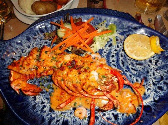 Papa Nino: Half of Lobster Thermidor
