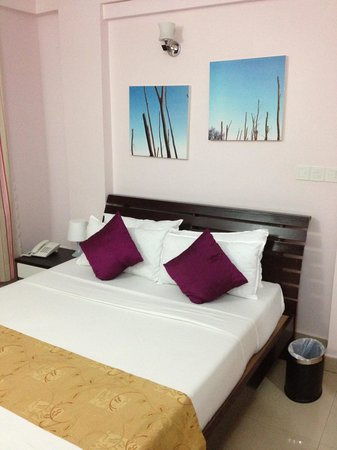 Hotel Octave : Octave bed