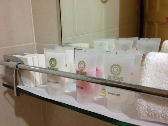 Hotel Octave : Complete toiletries