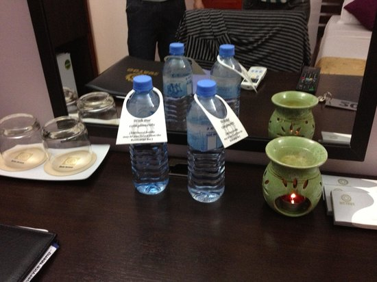 Hotel Octave : Mineral water
